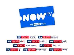 7 Months NOW TV Sky Sports Pass @ An Average of £21.71 per month for New & Existing Customers (With Code - See Post). Total Cost: £151.97