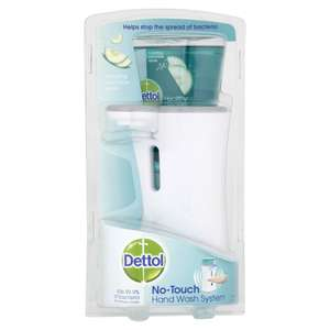Dettol No Touch Hand Wash Unit with Cucumber Refill 250ml £6 @ Wilko