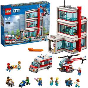 LEGO 60204 City Town Hospital with Ambulance and Helicopter - £40 @ Amazon