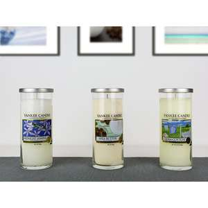 Yankee Candle 3 Large Classic Pillar Jar Decor Candles £25 Delivered @ Yankee Bundles (Clean Cotton, Shea Butter & Midnight Jasmine)
