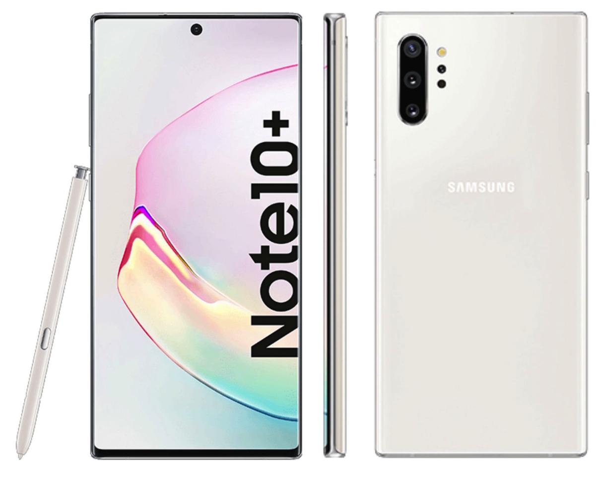 EGlobal Central UK. Samsung Galaxy Note 10+ 12GB/256GB Dual Sim - Aura Glow/Aura White - £712.49 (Potential Quidco cashback)