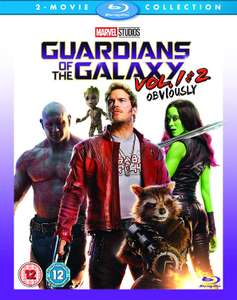 Guardians Of The Galaxy Vols 1 & 2 [Blu-ray] [2017] [Region Free] for £15 @ Amazon (+£2.99 Non-Prime)