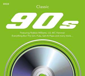 Classic 90's [3CD Box Set] - £2.49 delivered @ Amazon Prime / Non - Prime £5.48 (sold by D & B ENTERTAINMENT and fulfilled by Amazon)