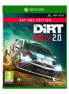 DiRT Rally 2.0 Day One Edition (Xbox One/PS4) for £15.99 Prime / £18.98 Non Prime @ Amazon UK