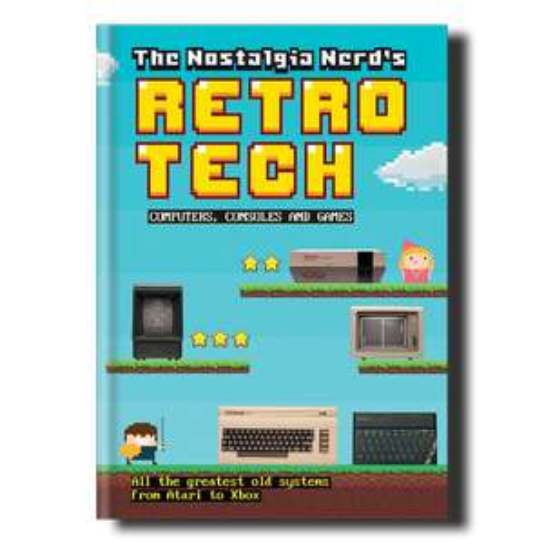 Nostalgia Nerd's Retro Tech, Computing & Gaming Book [Hardcover]  £4 (Prime) / £6.99 (non Prime) at Amazon