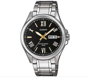 Casio Men's Stainless Steel Bracelet Day and Date Watch for £29.99 at Argos