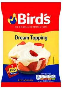 Bird's Dream Topping 3 pk 99p at Home Bargains