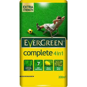 Evergreen 4 in 1 complete 7kg £3.50 at Wilko (+£2 c&c)