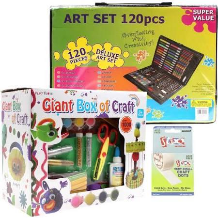 Kids craft bundle £8.40 with code at hobbycraft (free c&c / £4.50 p&p)
