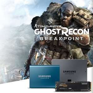 Ghost Recon Breakpoint PC Standard Edition Free With Selected Samsung SSD's @ CCL online