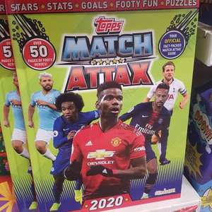 Maych Attax 2020 annual £1 Poundland Liverpool St Johns