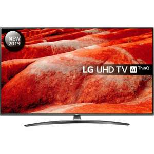 "LG 55UM7660PLA (2019) 55"" Inch Smart IPS 4K Ultra HD Freeview HD / Freesat / w/Alexa / Google Assistant - £489 @ AO eBay (+more TVs in op)"