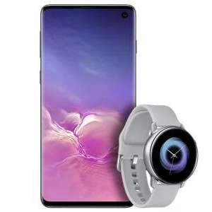 Samsung Galaxy S10 on o2 - 45GB Data + Unlimited Minutes and Texts + Free Active Watch £35 per month + 0 upfront with code £840 @ BuyMobiles