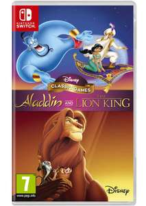 Disney Classic Games: Aladdin and The Lion King (Nintendo Switch) - £25.85 - base