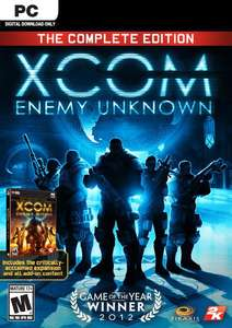XCOM: Enemy Unknown - The Complete Edition (PC) £3.49 @ CDKeys