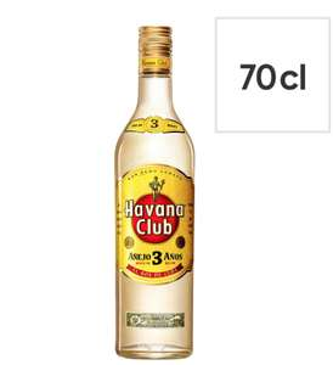 Havana Club 3 Year Old White Rum 70cl £13.50 Sainsburys Instore Pontypridd