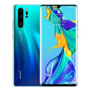 Huawei P30 Pro 128GB Sim Free Unlocked (Various Colours) with £10 data sim for £520 @ Three