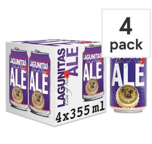 Lagunitas 12th of Never Ale 4 x 355 ml pack £3.19 @ Home Bargains