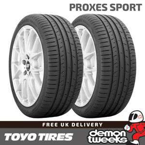 2 x 225/40/18 92Y XL Toyo Proxes Sport Performance Road Car Tyres - £99.13 using code @ Demon Tweeks / eBay