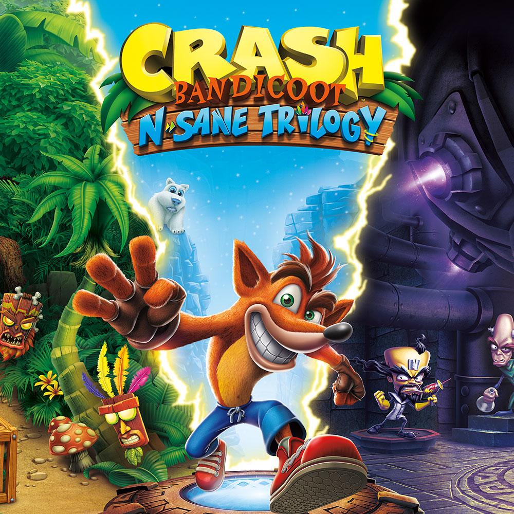 Crash Bandicoot N. Sane Trilogy (Nintendo Switch) £20.99 @ Nintendo shop