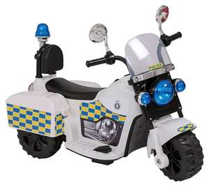 6V Battery Powered Police Trike £35/Zoomies Unicorn or Giraffe Tri Scooter £15/Evo Inline Scooter- Blue or pink £15 @ George Asda free c&c