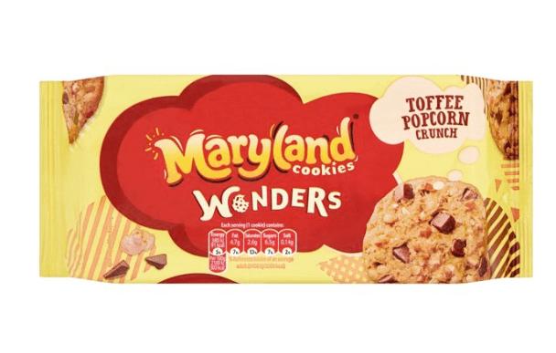 Maryland Cookies Wonders 87p @ Tesco Perth