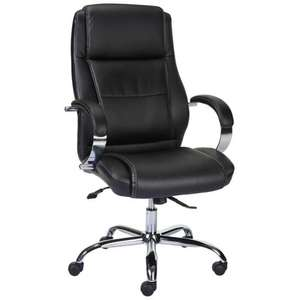 Lyra Executive Chair ( £20.54) + Surfline Leather Chair  (£40.61) delivered @ Staples