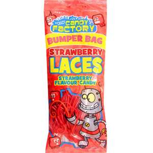 Crazy Candy Factory Strawberry or Blue Raspberry 225g 50p @ Tesco Perth