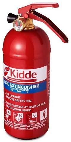 Kidde KS1KG Multi-Purpose Fire Extinguisher now £10.95 (Prime) + £4.49 (non Prime) at Amazon