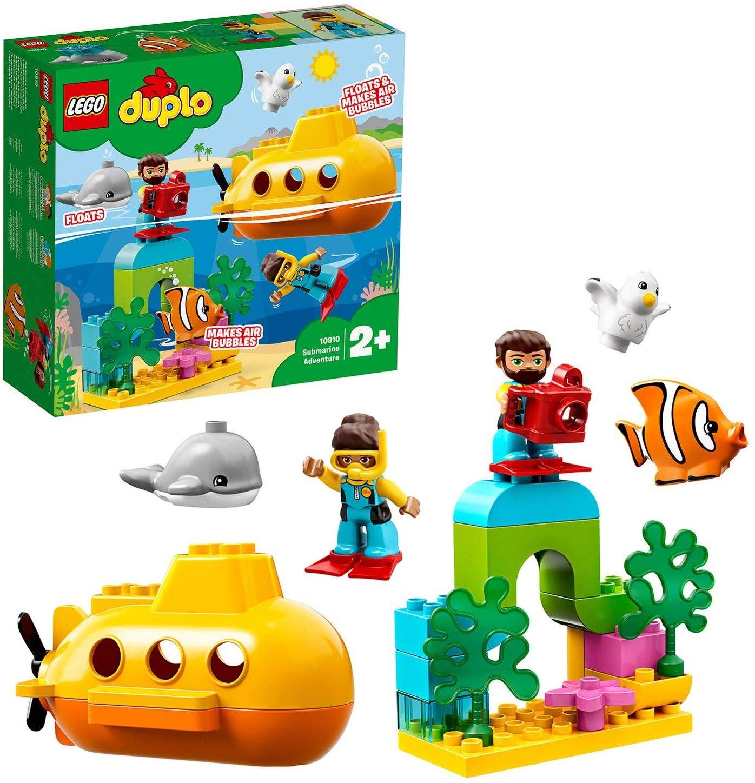 LEGO 10910 DUPLO Town Submarine Adventure Bath Toy now £12 (Prime) + £4.49 (non Prime) at Amazon
