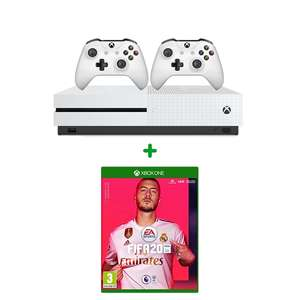 Xbox One S 1TB Two-Controller Bundle & FIFA 20 £189.99 (Free Delivery or free Click & Collect) @ Smyths