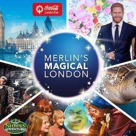 Merlin's Magical London Pass (London Eye, Madame Tussauds, London Dungeon, Shrek's Adventure, Sea Life) £43 (With Code) @ Expedia