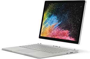 Microsoft Surface Book 2 Laptop - £1,499 @ Amazon Intel i7-8650U, 8 GB RAM, 256 GB SSD, NVIDIA GeForce GTX 1050 Graphics, Windows 10 Pro