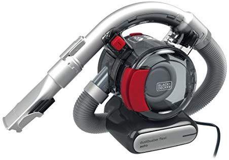 Black & Decker PD1200AV-XJ Black+Decker 12 V Flexi Auto Dustbuster, Grey/Red - £27.40 @ Amazon