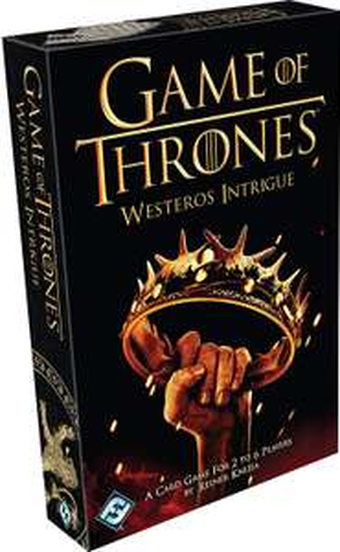 Westeros Intrigue Board Game - £7.37 @ Amazon (+£4.49 non-Prime)