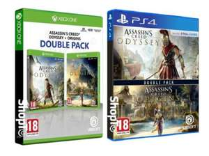 Assassins Creed Origins + Odyssey Double Pack [PS4/Xbox One] for £31.85 Delivered @ Shopto