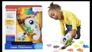 Fisher Price Smart Scan Colour Changing Chameleon £11.88 delivered with code @ Groupon