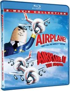 Airplane/Airplane II: The Sequel [Blu-ray] - 2 movie collection - Region free - £7.86 delivered @ WowHD