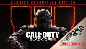 Call of Duty Black Ops 3 + Zombies Chronicles Bundle 50% off £22.49 @ Humble Bundle