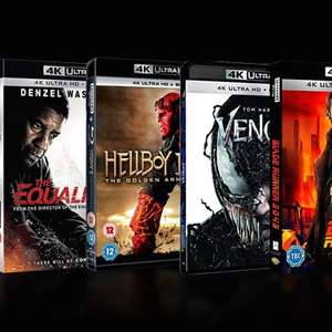 Zoom day 3 for £30 4k blu rays delivered @ Zoom