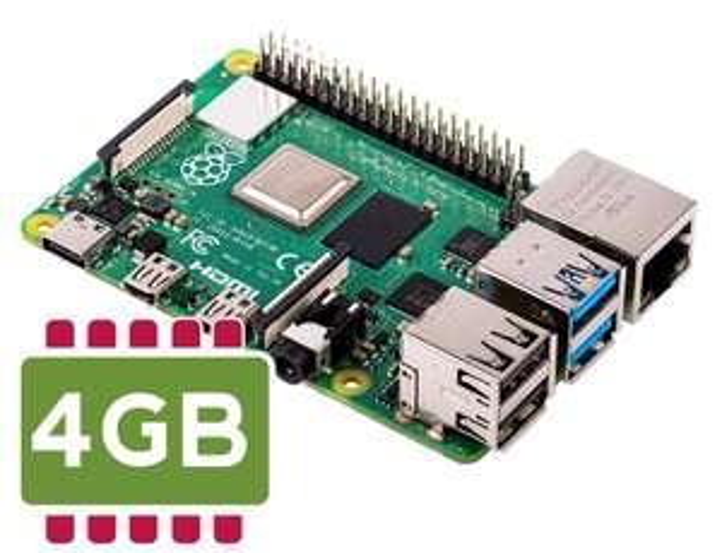 Raspberry Pi 4 Model B 4GB RAM - free delivery £39.99 @ ebay / norfolksofleeds