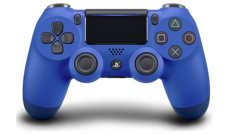PS4 DualShock 4 V2 Wireless Controller - Wave Blue - £34.99 @ Argos