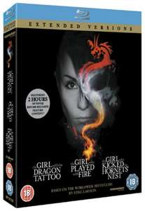 The Girl... Trilogy - Extended Versions [Blu-ray] - £6.99 Delivered @ Zoom