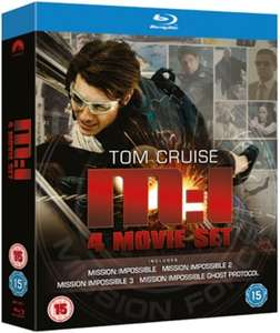 Mission Impossible 1-4 [Blu-ray] £5.99 delivered @ Zoom