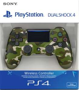 SONY Playstation DualShock 4 V2 Controller in Black/Blue/Red/White/Green Camouflage £33.85 at shopto