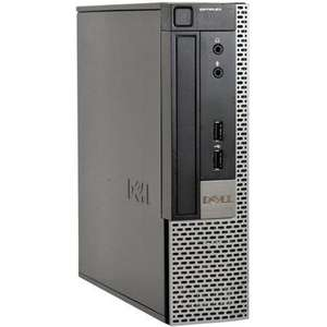 Dell Optiplex 9020USFF PC i5 4590s 3.0Ghz 256GB SSD Windows 10, refurbished, £122 at ITZOO