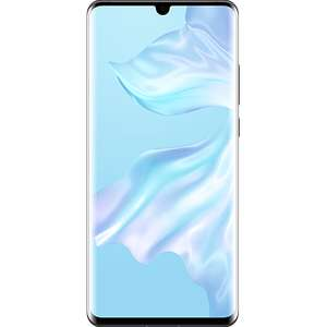 Huawei P30 Pro (128GB and various colours) for £556.50 on on O2 refresh