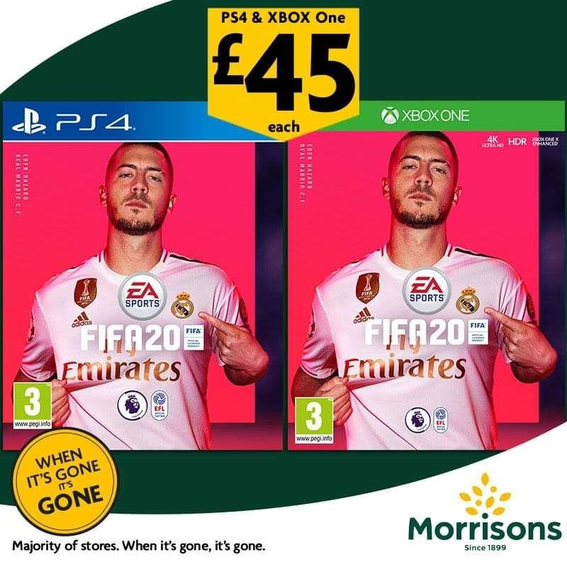 FIFA 20 £45 at Morrisons