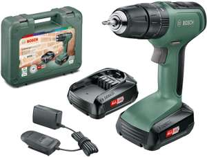 Bosch Cordless Hammer Drill UniversalImpact 18 (2x Batteries, 18 Volt System, in Carrying Case