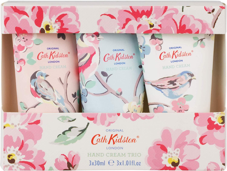 Cath Kidston Assorted Blossom Birds Hand Cream Trio £ 5.95 @ Amazon (£10.44 NP)